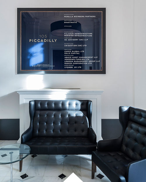 105 Piccadilly Interior Design